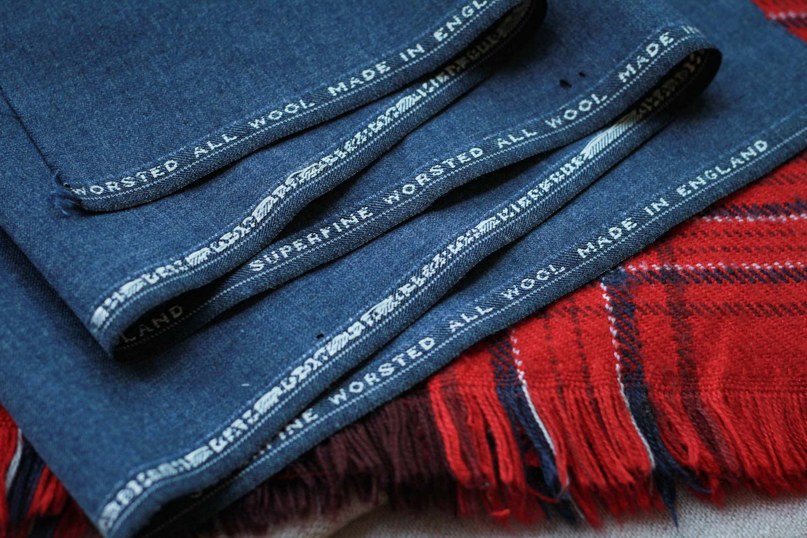 Superfine Worsted All Wool From England