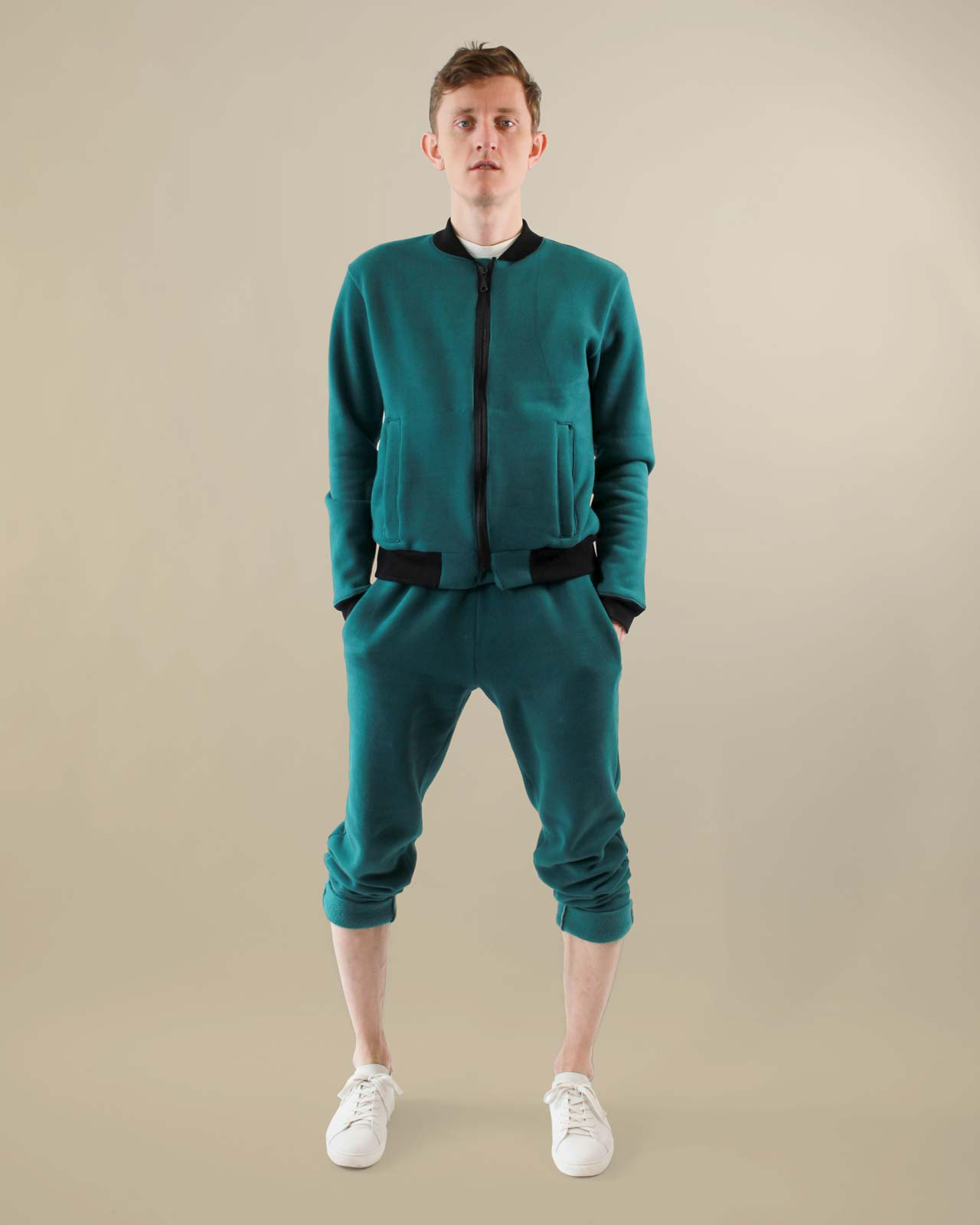 Mens Turquoise Track Suit