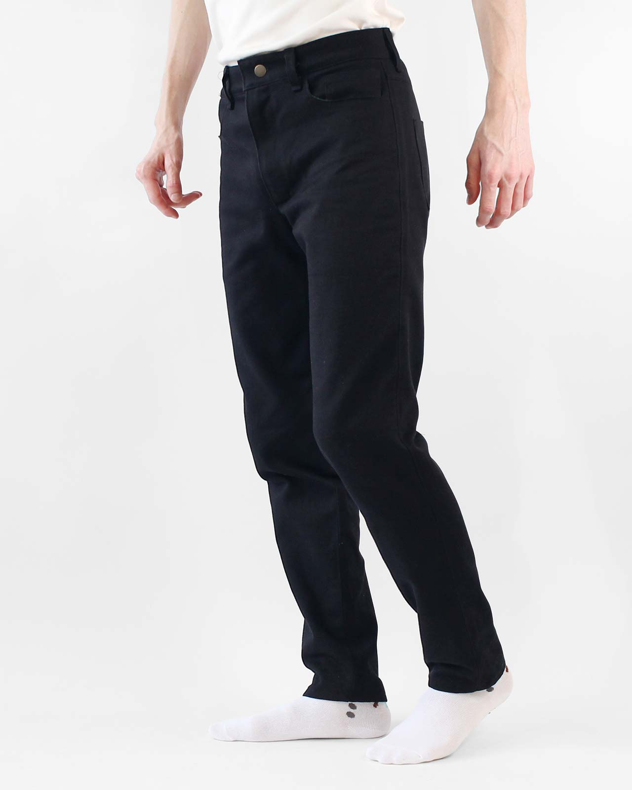 Handmade Mens Black Jeans